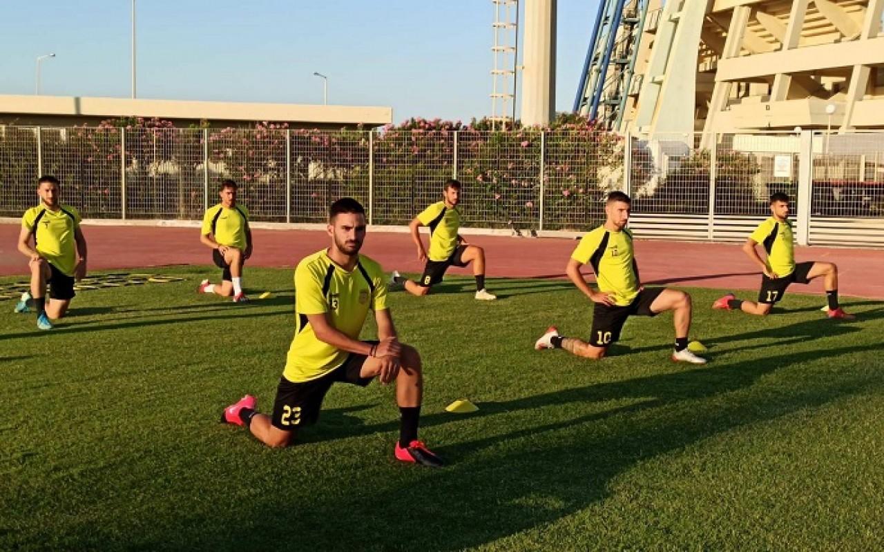 Training Report (31/07/20)