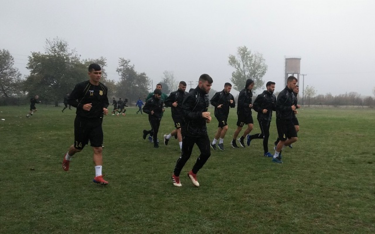 Training Report (01/11/19)
