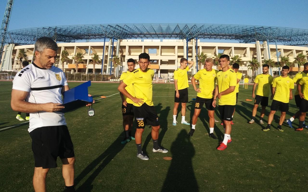 Training Report (12/08/19)