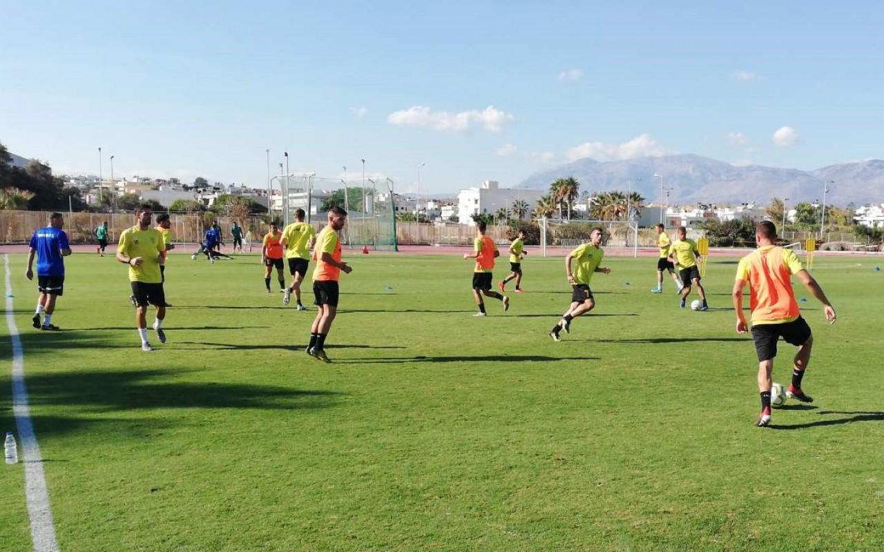 Training Report (03/10/19)