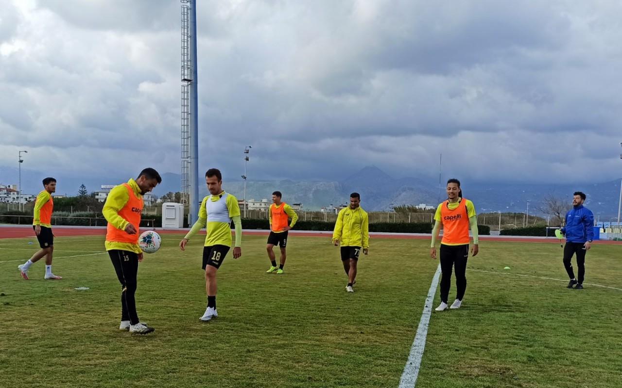 Training Report (21/02/21)