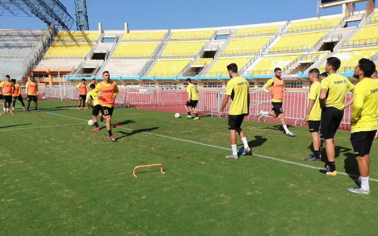 Training Report (27/11/19)