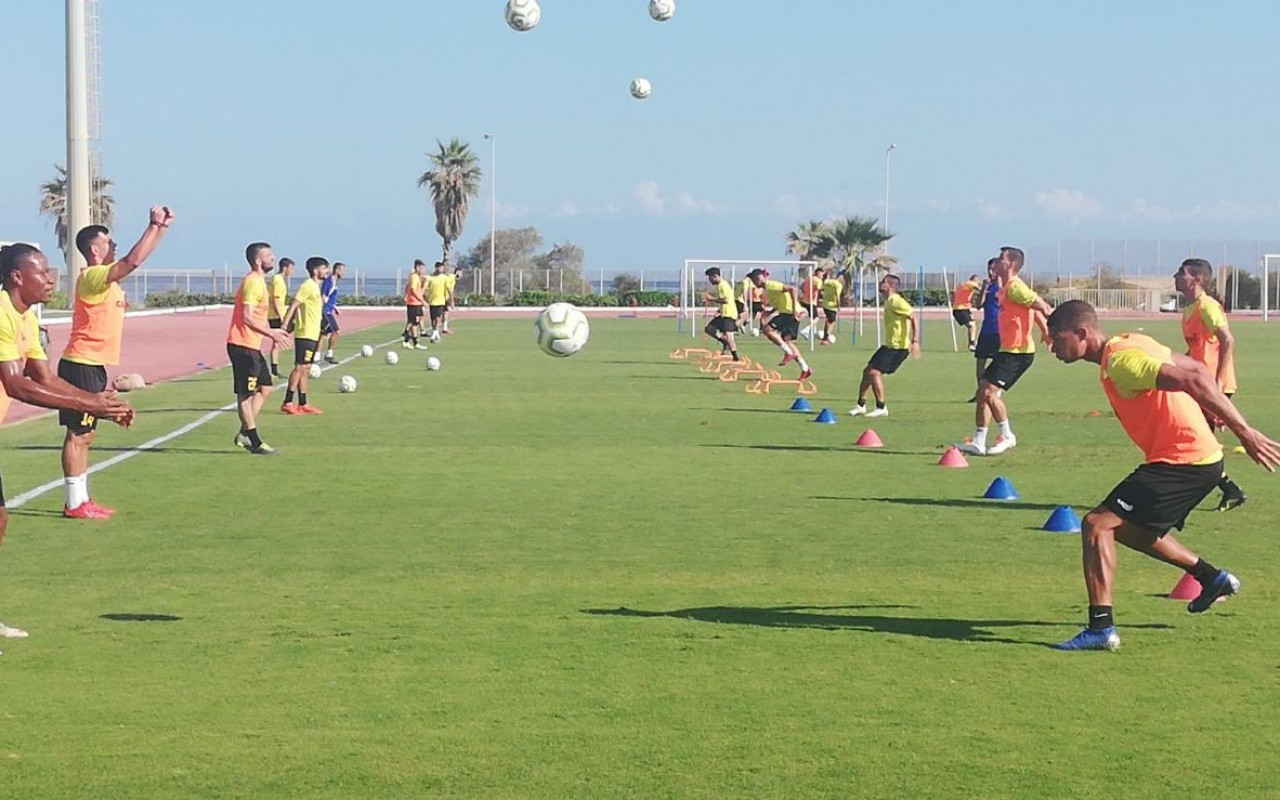 Training Report (07/10/19)