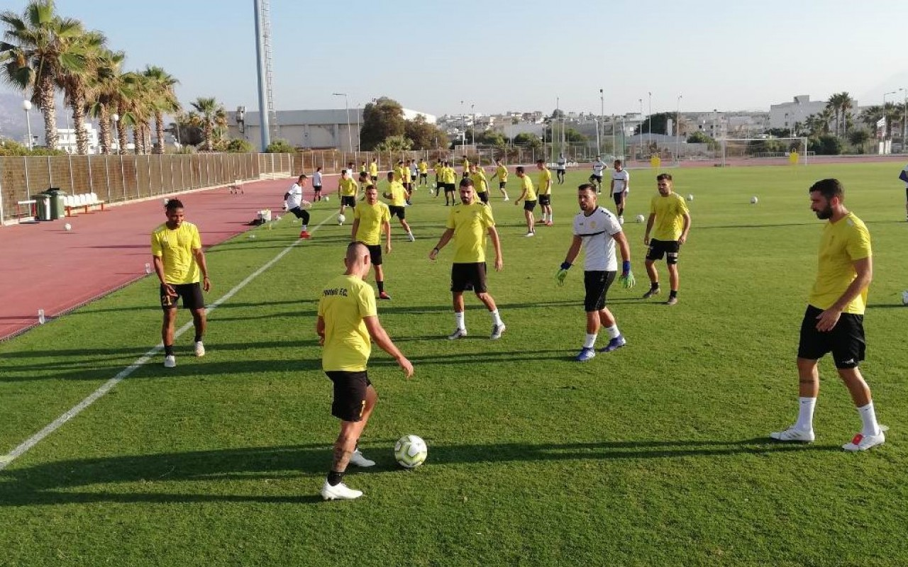 Training Report (13/08/19)