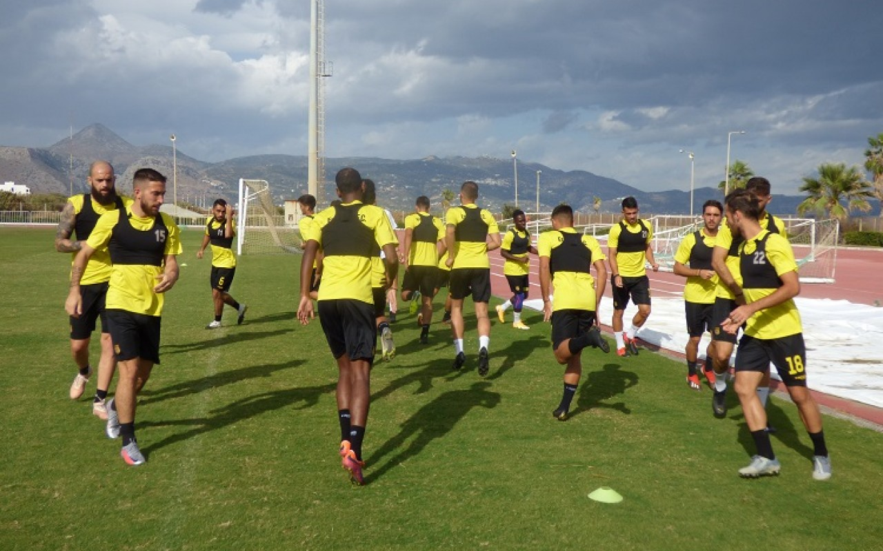 Training Report (16/10/20)