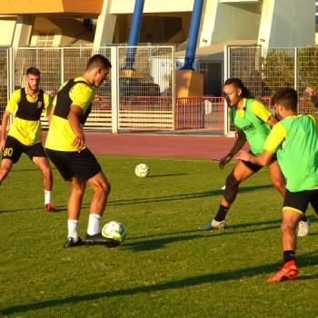 Training Report (14/09/20)