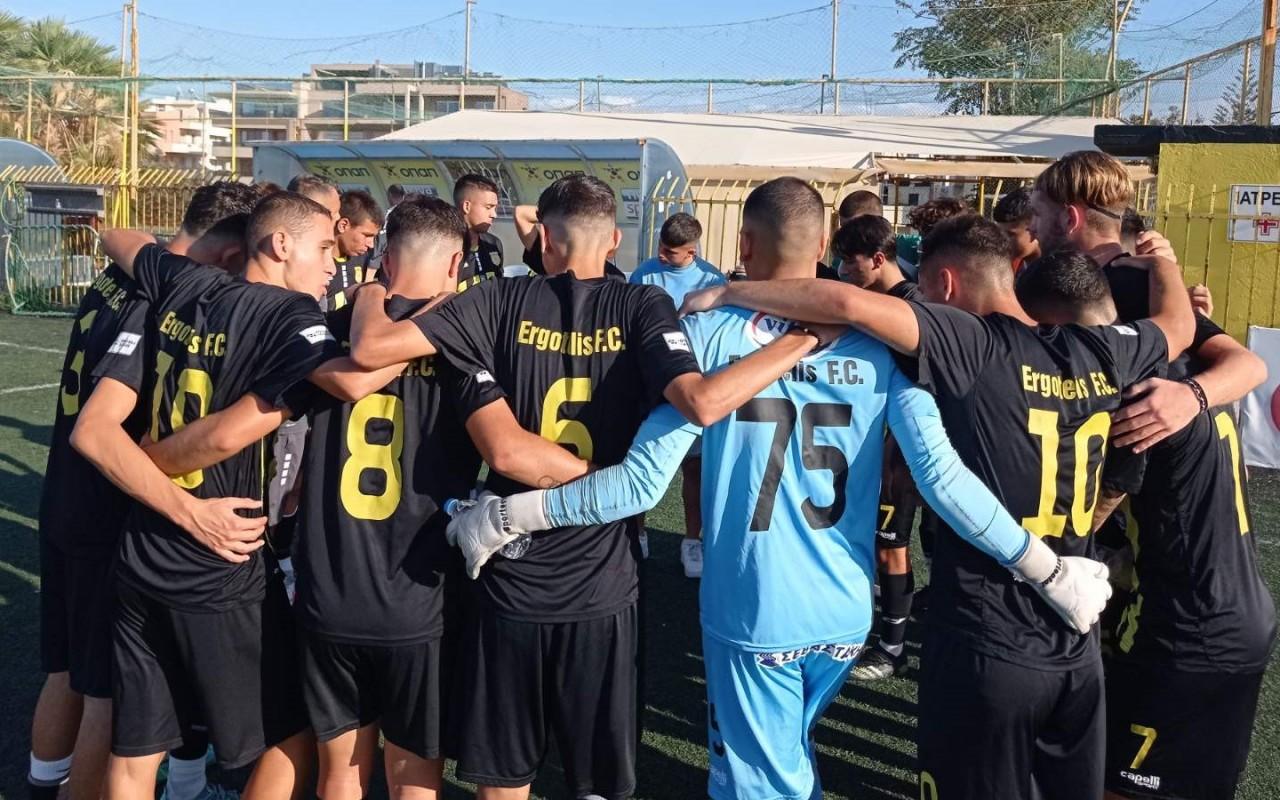 Φιλική ήττα (1-0)  της Κ19 από την Νεάπολη