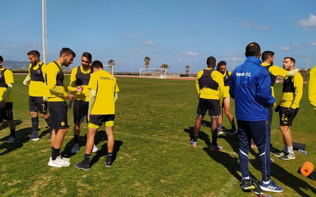 Training Report (08/04/21)
