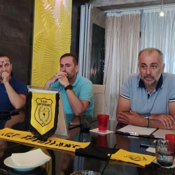 Μένουμε όλοι μαζί για να δείξουμε μια καλή εικόνα και ένα καθαρό ελληνικό ποδόσφαιρο